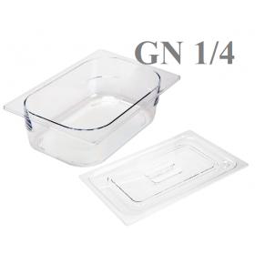 1/4 Δοχεία Polycarbonate Gastronorm GN