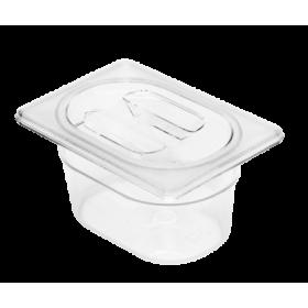 1/9 Δοχεία Polycarbonate Gastronorm GN