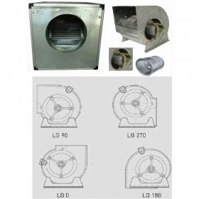 Eξαεριστήρες Διπλής Αναρρόφησης Άμεσης Κίνησης σε Ηχομονωμένο Κιβώτιο 1400 RPM 4 Πόλων
