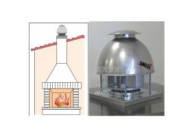 Εξαεριστήρες - Απορροφητήρες Οροφής Τζακιών & Barbecues