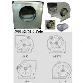 Eξαεριστήρες Διπλής Αναρρόφησης Άμεσης Κίνησης σε Ηχομονωμένο Κιβώτιο 900 RPM 6 Πόλων