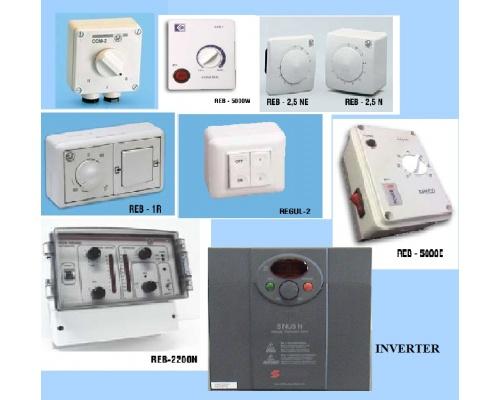 Ρυθμιστές Στροφών Ροοστάτες - Inverter