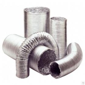 Αλουμινίου Αεραγωγοί-Σωλήνες Εύκαμπτοι Aluconnect