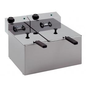 Επιτραπέζια Φριτέζα Διπλή Ηλεκτρική  4 + 8 λίτρα EF85 RedFox