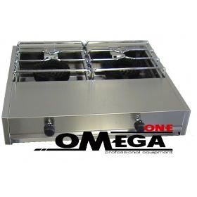 2 Εστιών Αερίου -Επιτραπέζια Κουζίνα 302GA