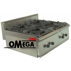 4 Εστίες Αερίου -Επιτραπέζια Κουζίνα με Θερμοκόπια