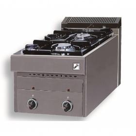 2 Εστίες Αερίου -Επιτραπέζια Κουζίνα GAS E2 Pilot