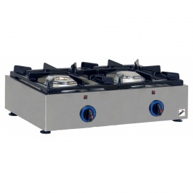 2 Εστίες Αερίου -Επιτραπέζια Κουζίνα GAS E22 Pilot