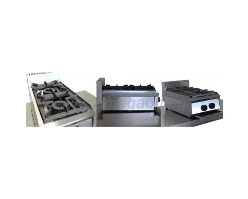 2 Εστίες Αερίου -Επιτραπέζια Κουζίνα με Πιλότο 202PST
