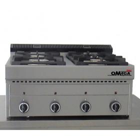 4 Εστίες Αερίου -Επιτραπέζια Κουζίνα GAS E4 Pilot