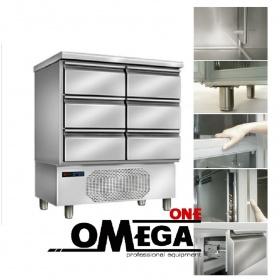 Ψαριέρα με 2 Τριπλές Συρταριέρες -Omega One