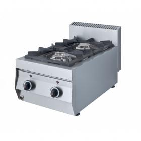 2 Εστίες Αερίου -Επιτραπέζια Κουζίνα GAS E200 Pilot