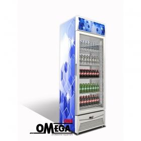 Ψυγείο Αναψυκτικών Μονό Γυάλινη Πόρτα OmegaOne Cool S405