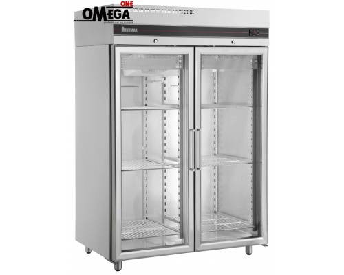 Ψυγείο Αναψυκτικών Διπλό Γυάλινες Πόρτες 1432 lt