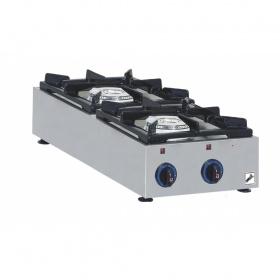 2 Εστίες Αερίου -Επιτραπέζια Κουζίνα GAS E22C