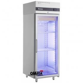 Ψυγείο Θάλαμος Συντήρηση με 1 Γυάλινη Πόρτα 654 Ltr διαστ. 720x905x2095 mm