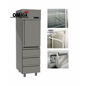 Ψυγείο Θάλαμος Συντήρηση 1 Πόρτα & 3 Συρτάρια 455 Ltr διαστ. 570x800x2035 mm