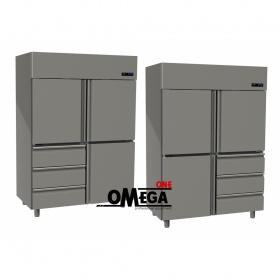 Ψυγείο Θάλαμος Συντήρηση 3 Πόρτες & 3 Συρτάρια 1315 Ltr διαστ. 1420x800x2035 mm