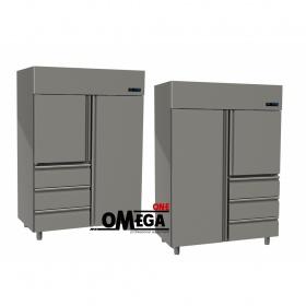 Ψυγείο Θάλαμος Συντήρηση 2 Πόρτες & 3 Συρτάρια 1315 Ltr διαστ. 1420x800x2035 mm