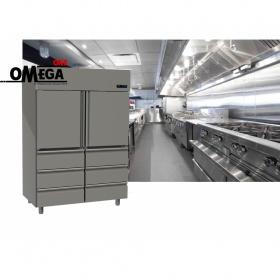 Ψυγείο Θάλαμος Συντήρηση 2 Πόρτες & 6 Συρτάρια 1315 Ltr διαστ. 1420x800x2035 mm