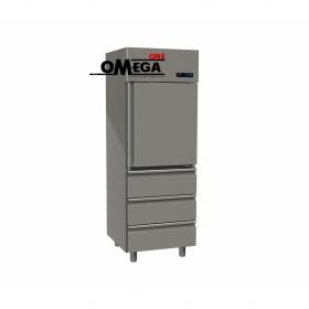 Ψυγείο Θάλαμος Συντήρηση 1 Πόρτα & 3 Συρτάρια 597 Ltr διαστ. 710x800x2035 mm
