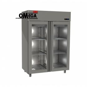 Ψυγείο Θάλαμος Συντήρηση με 2 Γυάλινες Πόρτες 1510 Ltr