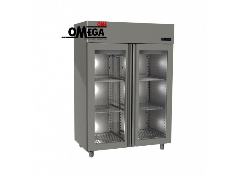 Refrigerators Upright Glass Doors Chiller 1510 Ltr Fridge 1 Opening