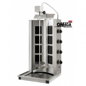 Ηλεκτρικός Γύρος 4 Διακοπτών -έως 100 kg Κρέας με Κεραμικές Αντιστάσεις