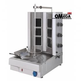 Ηλεκτρικός Γύρος 3 Διακοπτών Μοτέρ στο Κάτω Μέρος -έως 45 kg Κρέας με Κεραμικές Αντιστάσεις