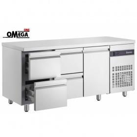 Ψυγείο Πάγκος με 4 Συρτάρια και 1 Πόρτα διαστ. 1790x700x870 mm PN229