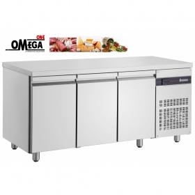 Ψυγείο Πάγκος Συντήρηση με 3 Πόρτες διαστ. 1790x700x870 mm NN999