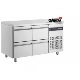 Ψυγείο Πάγκος με 4 Συρτάρια διαστ. 1345x700x870 mm PNN29/4