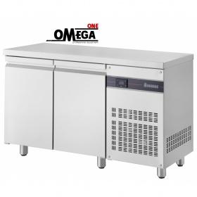 Ψυγείο Πάγκος Στενό Συντήρηση με 2 Πόρτες διαστ. 1345x600x870 mm Σειρά 600