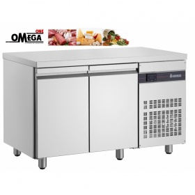 Ψυγείο Πάγκος Συντήρηση με 2 Πόρτες διαστ. 1345x700x870 mm NN99