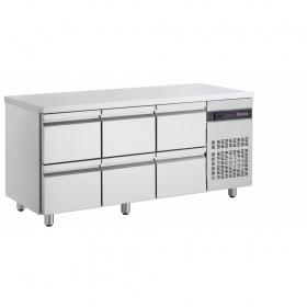 Ψυγείο Πάγκος με 6 Συρτάρια διαστ. 1790x700x870 mm PNN229/6S