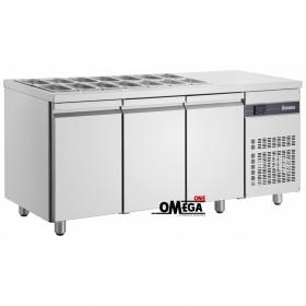 Ψυγείο Σαλατών Χωρίς Βιτρίνα διαστ. 1810x700x870 mm ZNV99