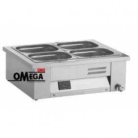 Επιτραπέζιο Μπαιν Μαρί 2 x 1/1 GN διαστ. 760x630x265 mm -Λειτουργία Υγρού τύπου