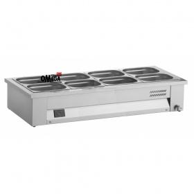Επιτραπέζιο Μπαιν Μαρί 4 x 1/1 GN διαστ. 1410x630x265 mm -Λειτουργία Υγρού τύπου