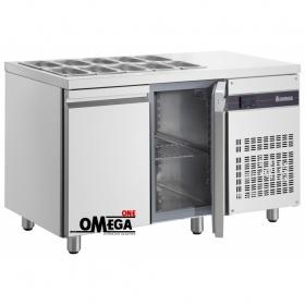 Ψυγείο Σαλατών Χωρίς Βιτρίνα διαστ. 1360x700x870 mm ZNV9