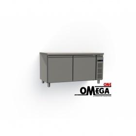 Συντήρηση Ψυγείο Πάγκος με 2 Πόρτες Χωρίς Μηχανή διαστ. 1595x800x865 mm GN 1/1 Σειρά 80