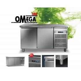 Ψυγείο Πάγκος Συντήρηση με 2 Πόρτες διαστ. 1450x600x865 mm Σειρά 60