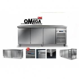 Ψυγείο Πάγκος Συντήρηση με 3 Πόρτες διαστ. 1975x600x865 mm Σειρά 60