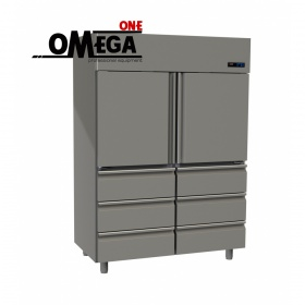 Ψυγείο Θάλαμος Συντήρηση 1315 Ltr 2 Πόρτες 6 Συρτάρια διαστ. 1420x800x2035 mm