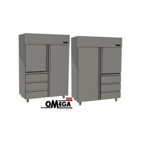 Ψυγείο Θάλαμος Κατάψυξη 2 Πόρτες & 3 Συρτάρια 1315 Ltr διαστ. 1420x800x2035 mm
