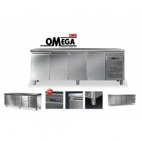 Ψυγεία Πάγκοι Συντήρηση με 4 Ανοξείδωτες Πόρτες Σειρές 600-700-800