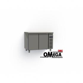 Συντήρηση Ψυγείο Πάγκος με 2 Πόρτες Χωρίς Μηχανή διαστ. 1145x600x865 mm GN 1/2 & 1/3 Σειρά 60 -Omega One