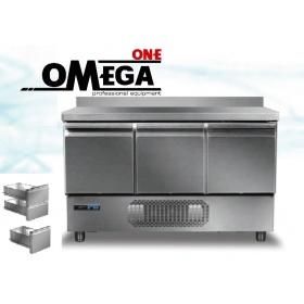 Ψυγείο Πάγκος Συντήρηση με 3 Πόρτες GN 1/1 διαστ. 1360x700x865 mm Σειρά 70