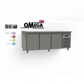 Ψυγείο Πάγκος Συντήρηση με 3 Πόρτες διαστ. 1975x800x865 mm Σειρά 80