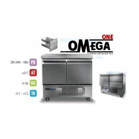 Ψυγεία Πάγκοι Συντήρηση με 2 Πόρτες GN 1/1 διαστ. 915x700x865 mm Σειρά 70