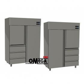 Ψυγείο Θάλαμος Κατάψυξη & Συντήρηση 1315 Ltr 2 Πόρτες 3 Συρτάρια διαστ. 1420x800x2035 mm
